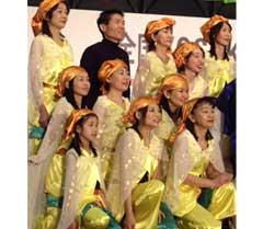 「全国YOSAKO衣デザインコンペinふくい」で一次予選を通過した、ピーターパン風よさこい衣装です。