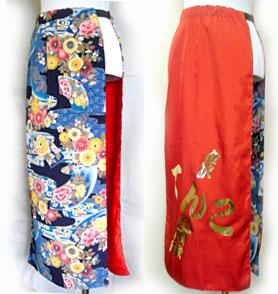 よさこい衣装の腹がけや腰巻き事例は、金沢てんこ乱舞隊&石川県立大学さんです。
