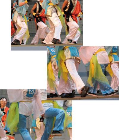 オーダーよさこい屋/よさこい衣装製作事例/東京メトロ群青