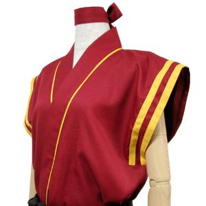 太鼓衣装の制作事例は、袖なし半天の甲山瀬戸内源流太鼓さんです。
