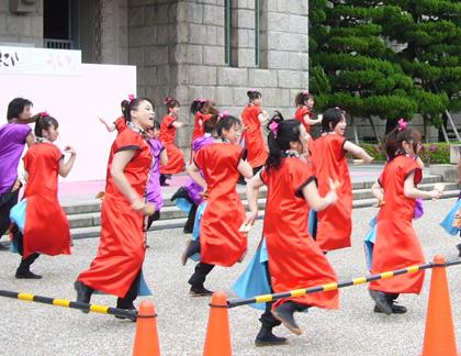 よさこい屋が、制作した舞姫のよさこい・太鼓衣装です。