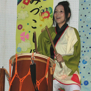 よさこい屋で制作した無双太鼓のよさこい・太鼓衣装。