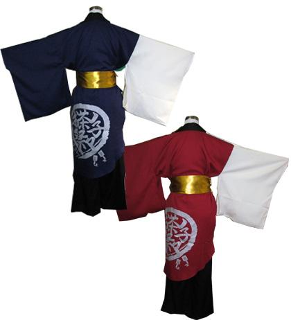 よさこい屋が、制作したお茶ノ子祭々のよさこい・太鼓衣装です。