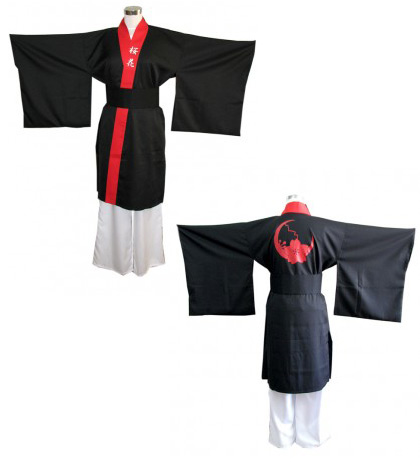 よさこい屋が、制作した桜花のよさこい・太鼓衣装です。