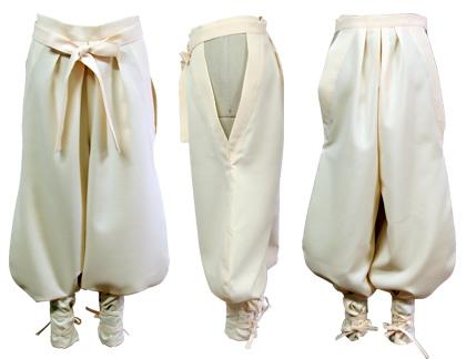 太鼓衣装の制作事例は、たっつけ風袴パンツの奥州水沢颯人和太鼓乃会さんです。後紐は、マジックテープ止め。前は、結び紐タイプで着脱も楽です。
