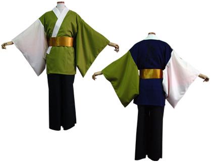 よさこい衣装の制作事例は、あわせ半天の京炎そでふれ!Tacchiさんです。アウター半天は、うぐいすや紺で粋に決めて。