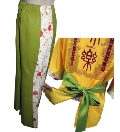 よさこい屋が、制作したよさこい和楽のよさこい・太鼓衣装です。