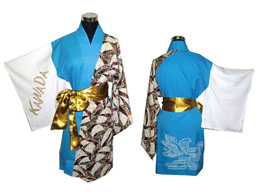 オーダーよさこい屋/よさこい衣装製作事例/KAWADA 蘭舞隊