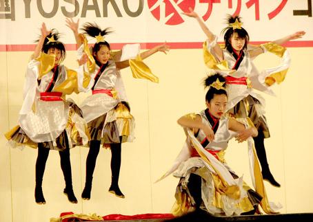豊夢さん、かわいいだけじゃなかったのです。 その踊りはパワフルで、子供達みんな☆のように輝いていました!