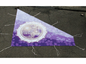 オーダーよさこい屋/よさこい旗製作事例/gnome(左)