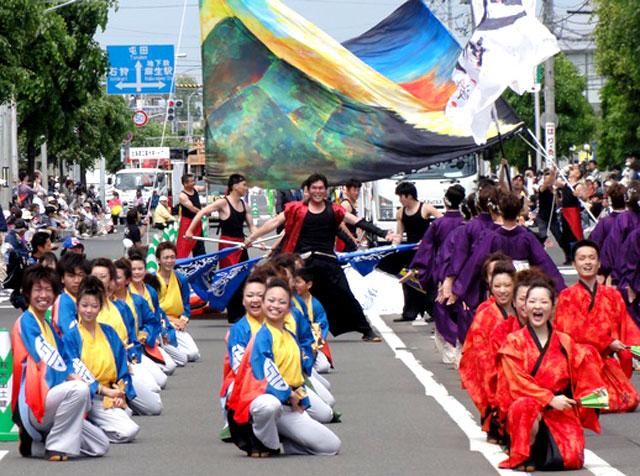 ヨサコイソーラン2012丹波篠山楽空間
