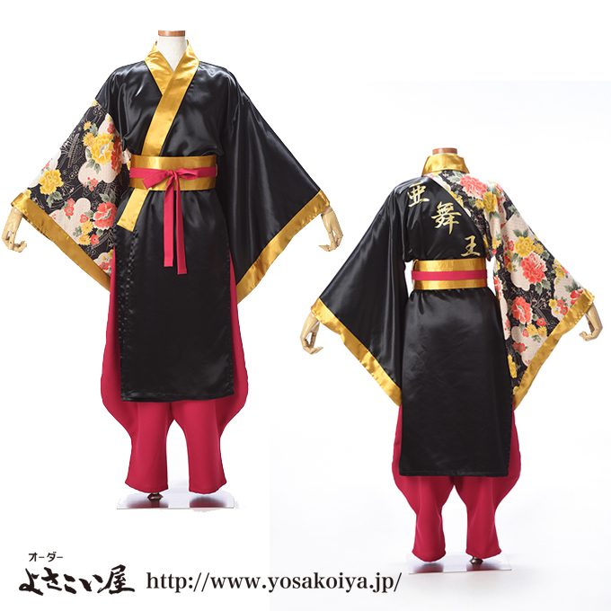 福岡県で活動している亜舞王のよさこい衣装