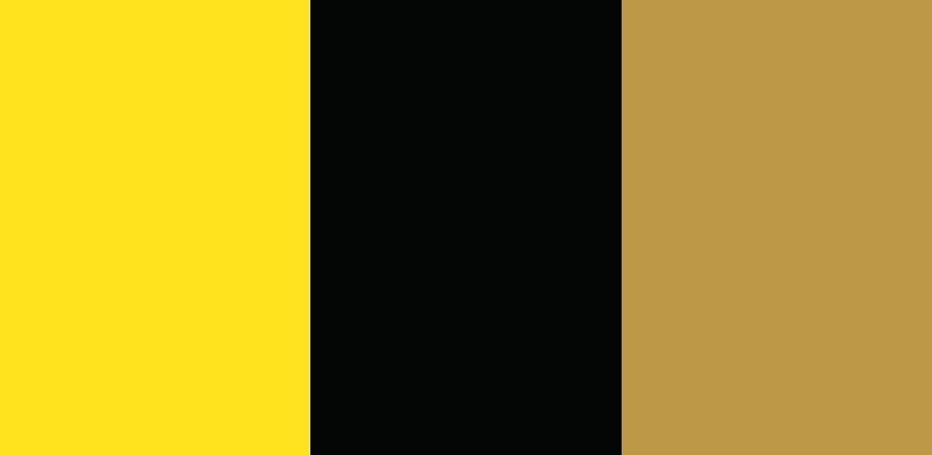 黄×黒×金