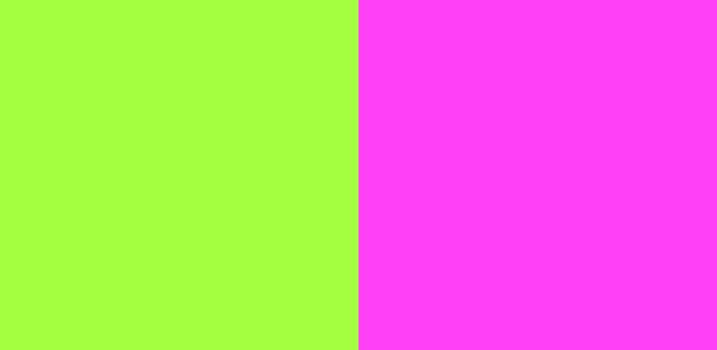 緑×ピンク