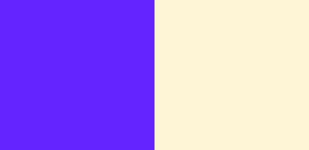紫×クリーム