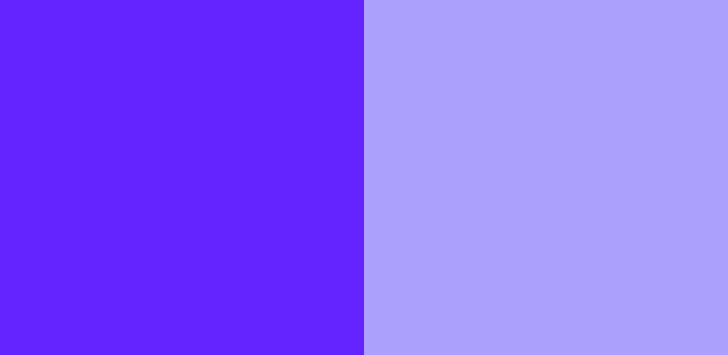 紫×うすい紫