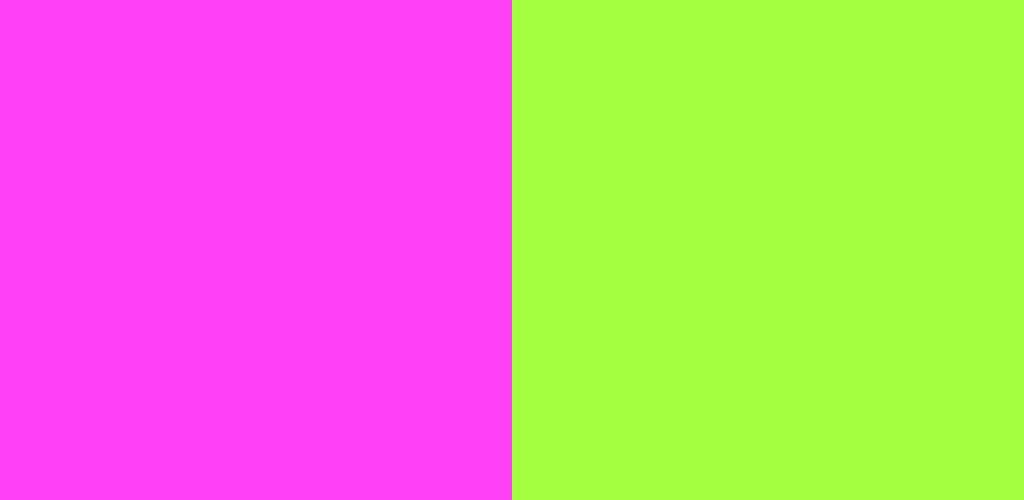 ピンク×緑