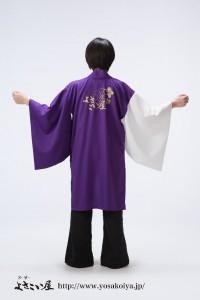 両用半天(帯なし)サンプル衣装