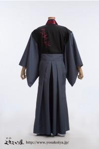 sibukawaraitaiko_sodenasihanten_men+hakama2_usiro