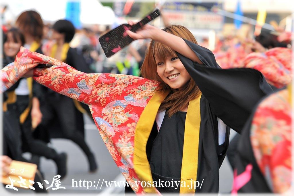 第1回『よさこ姫 姫部門準大賞』 朝霞なるこ人魚姫(埼玉県) 静香姫