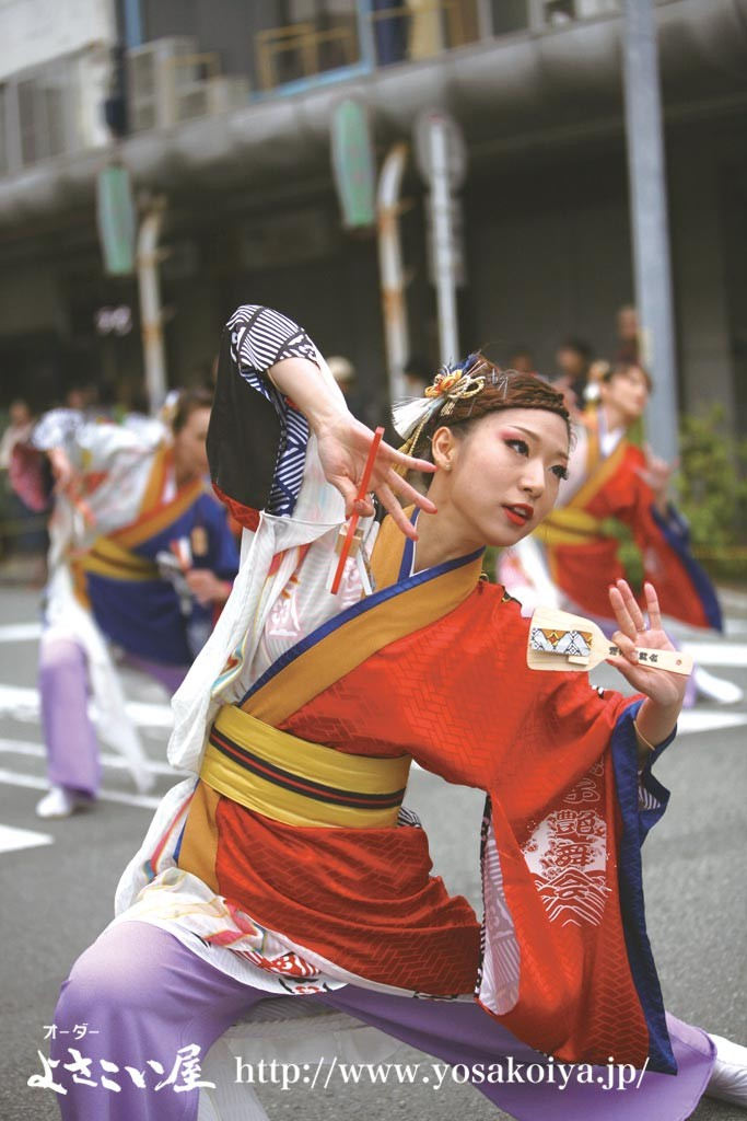 第四回『よさこ姫部門 大賞』 鳴子艶舞会(静岡県)由希子姫