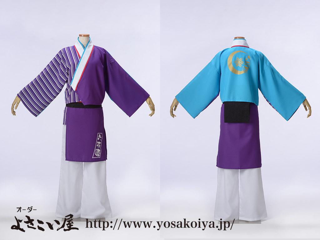 野田六花連さま蒼衣装です。