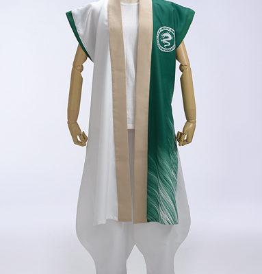 踊り子さんと同じデザインで旗師さんの衣装もつくりました。