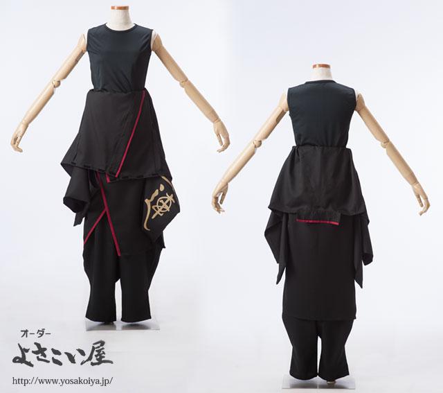 一蓮yosakoi早脱ぎ衣装