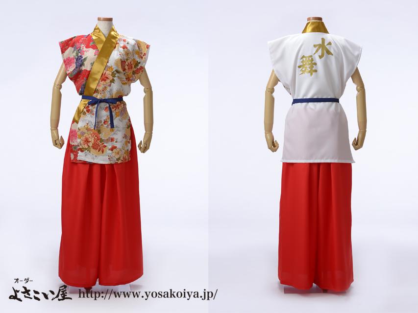 福井県の和太鼓チーム、水舞太鼓さんのオリジナル太鼓衣装