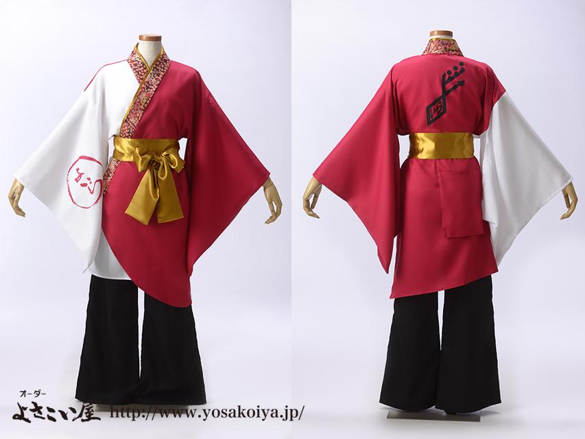 鹿児島県のよさこいチームよいらーいきingさんの衣装