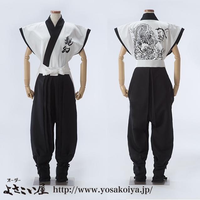 奈良県で和太鼓演奏をしている龍幻さんの太鼓衣装