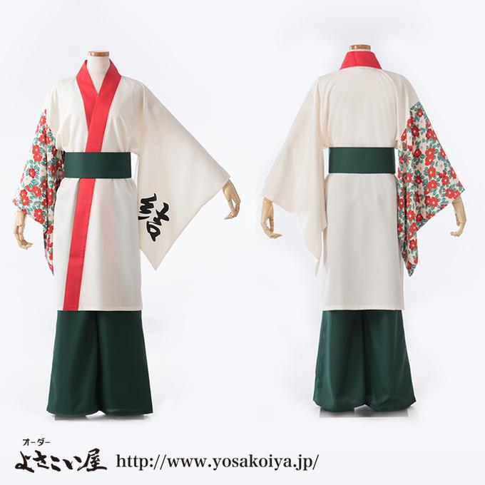 京都府で活動しているTAJIMAよさこい連結のよさこい衣装
